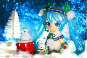 Snow Playground by Bluemeowpanda