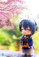 Sakura Viewing by Bluemeowpanda