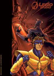 Cover for Zein 08 by legiostudio