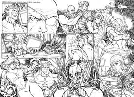 Page to AK Comics Publishing 2 by legiostudio