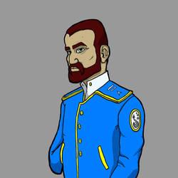 Captain Portrait by Elerd
