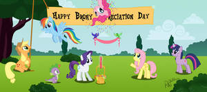 Happy Brony Appreciation Day by RatofDrawn