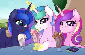 Milkshake 4: Princesses by RatofDrawn