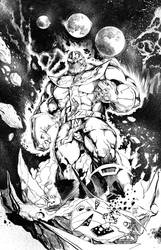 Thanos Inked Low by SlimJive