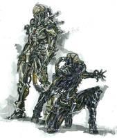 machine man by makwacheong
