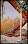 Hotel Tassel Stairwell by arcticphoenixstudios