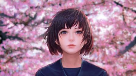 In the spring by kakotomirai