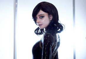 Miranda Lawson MASS EFFECT by AlienOrihara