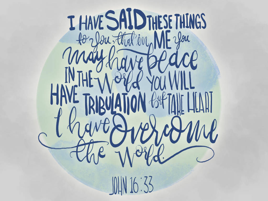 John 16:33 by sailorjessi