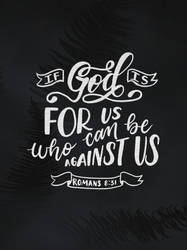 Romans 8:31 by sailorjessi