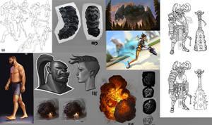 sketchdump week 20 by rzanchetin