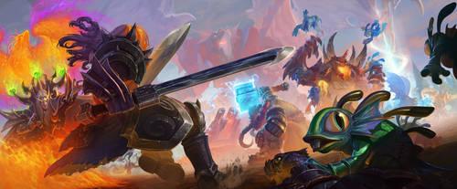 Enter the dragonshrine - the brawlening by rzanchetin