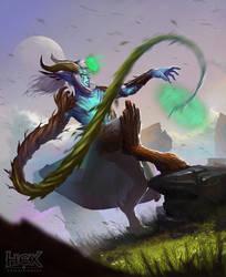 HEX - Oakhenge Druid by rzanchetin