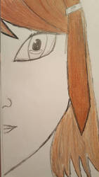 brown hair girl by tlt1811