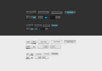 Web elements by Shegystudio