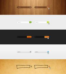 Search boxes by Shegystudio