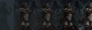 Nomad Elf - steps by Arsinoes