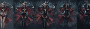 Dark Elf Summoner - Steps by Arsinoes
