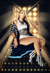 The Baddest Female - CL by Arsinoes