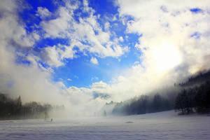 nice blue sky by rok993