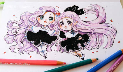 Twin Sisters by LaDollBlanche