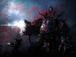 Chaos Terminator Champion by weaselpa