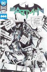 Batman sketch cover by Panagiotis Vlamis by weaselpa