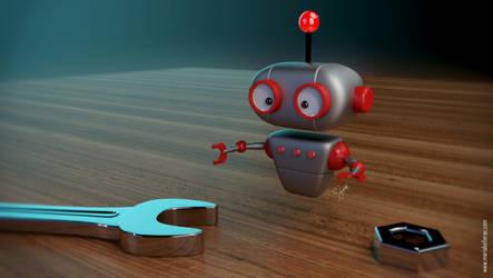 Tiny Robot by KellerAC