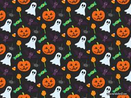 Halloween Pattern by KellerAC