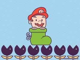 Super Mario FanArt by KellerAC