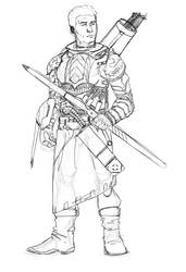 Archer by mikrd