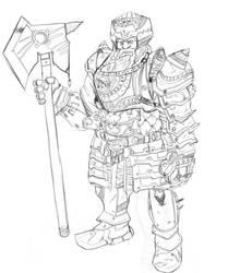 Dwarf General by mikrd