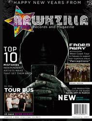Rawkzilla Magazine Cover by jonny-craze