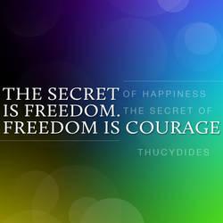 Freedom is Courage v.2 by jonny-craze