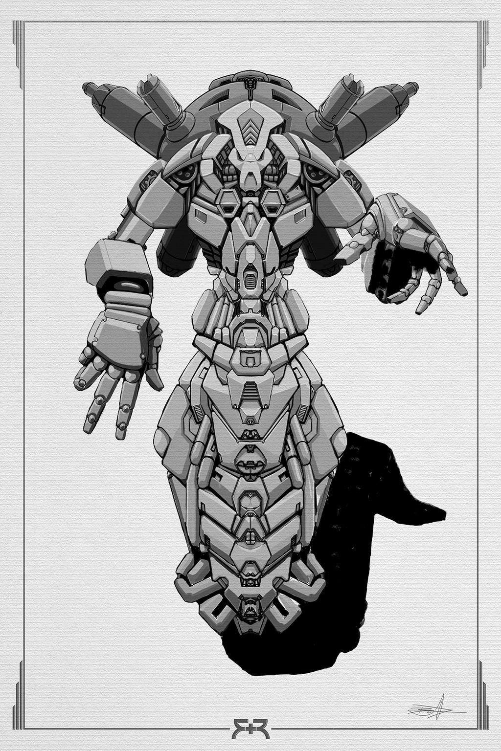 DOODLES - Robots 02 by VR-Robotica