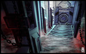SPEED PAINT -Simple Sci-Fi Interior by VR-Robotica