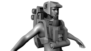 WIP - SpaceGuy in 3D by VR-Robotica