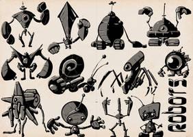 SKETCHBOOK - Robots 02 by VR-Robotica