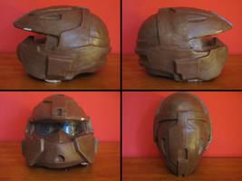 PROP MAKING - Halo 3 Rogue Helmet 05 by VR-Robotica