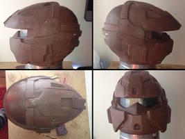 PROP MAKING - Halo 3 Rogue Helmet 06 by VR-Robotica