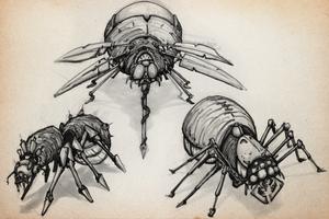 SKETCHBOOK - Bugs by VR-Robotica