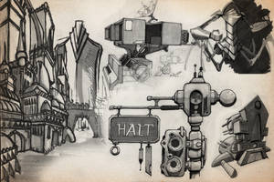 SKETCHBOOK - SciFi Page by VR-Robotica