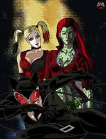 DC - Arkham City Sirens by Xpand-Your-Mind