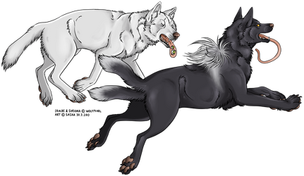 COMMISSION: Surama and Iralbe no. 2 by VirvaPP