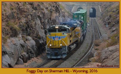 Foggy Day on Sherman Hill by classictrains