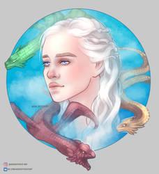 Khaleesi by Mephistopheies