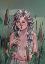 Pavetta Ciri's mother by Mephistopheies