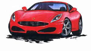 Car drawing one by b0o-b0o