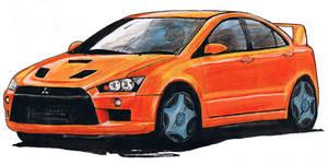 car drawing two by b0o-b0o