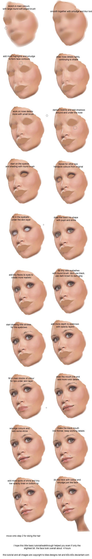 Digital Painting tutorial pt 1 by b0o-b0o